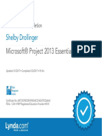 Microsoft®Project2013EssentialTraining_CertificateOfCompletion