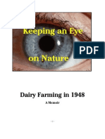 VIGNETTES Dairy Farming in 1948