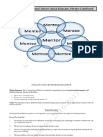 REVISEDSFSD Mentor_Mentee Guide Book and Communication Log Updated