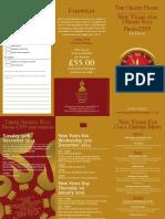 New Year Brochure 2014