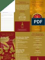 New Year Brochure 2013