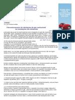 Dimensionamento de Tubulações de Gás Combustível
