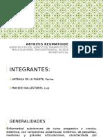 SEMINARIO ARTRITIS REUMATOIDE