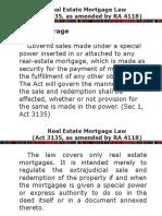Real Estate Mortgage Law Presentation