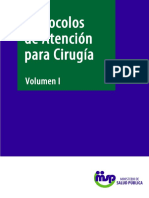 CIRUGIA Protocolos de Atención