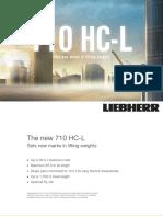 Grúa Torre Liebherr 710HC-L (t)