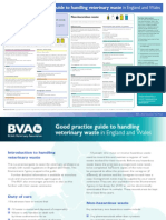 BVA Good Practice Guide to Handling Veterinary Waste in England and Wales