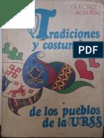 Tradiciones Costumbres Urss