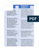 impacts of irs