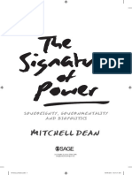 Dean Signature of Power, Introduction