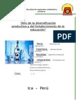 Informe de Laboratorio Materiales