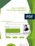 Expo 5 Desrrollo Historico de La Tabla Periodica