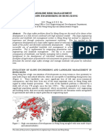 HN Wong & K Ho- Landslide Risk Management and Slope Engineering in HK