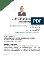Hoja de Vida Hector - Copia