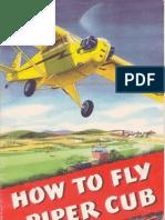 Piper J-3 Cub Booklet