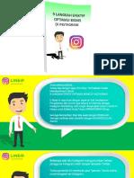 9 Kunci Sukses Di Instagram