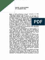Alejandro Von Humboldt. La Minería en México.