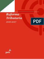 Reforma Tributaria 2016-2017