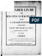Senaillé Violin Sonatas