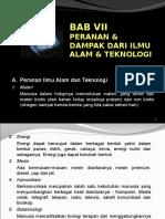 Bab 3 Peranan Dan Dampak Ipa & Teknologi