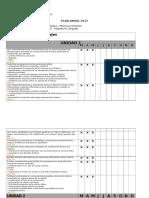Plan Anual Lenguaje 2º Basico
