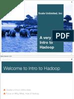 Short Introdude Hadoop
