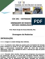 Aula 11 - Drenagem de Rodovias - Estudo Hidrologico