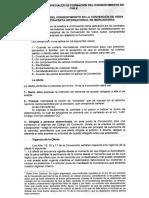 Regimenes Especiales de Formación Del Consentimiento en Chile