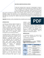 Extracción e Identificación de Lípidos