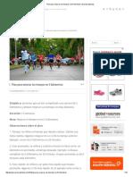 Plan Para Mejorar Los Tiempos en 5 Kilómetros _ Soy Maratonista