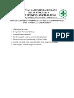 8.1.1. EP3 Persyaratan Kompetensi Petugas Yang Melakukan Interpertasi Hasil Pemeriksaan Lab