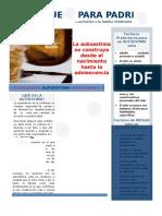 Informativo 1-2017 Autoestima