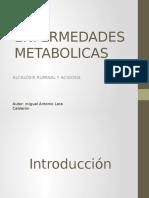ENFERMEDADES METABOLICAS Alcalosis Ruminal y Acidosis