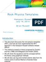 Rock Physic Template