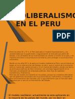 El Neoliberalismo en El Peru