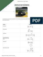 Ejemplos de Polímeros _ Textos Científicos