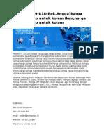 0812-971!69!818(Bpk.angga)Harga Pompa Celup Untuk Kolam Ikan,Harga Pompa Celup Untuk Kolam