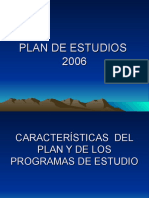 Plan de Estudios RES SEP