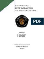 Accounting, Tradition, Modernization, And Globalization Akuntansi Multiparadigma