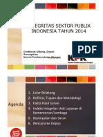 Integritas Sektor Publik 2014