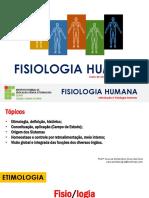 Aula 1 - Fisiologia Humana