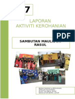 Report Maulidur Rasul 1438h 05012016