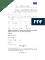 Differentiation Week 1 Notes