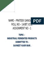 Name – Prateek Gangwani