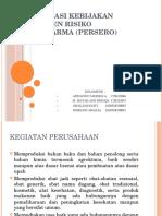 Identifikasi Kebijakan Manajemen Risiko Pt. Indofarma (Persero) Edit