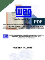 Ahorro de Energia en Motores Tecnologia WEG.ppt