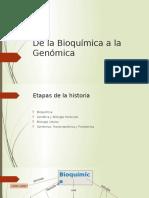 1. de La Bioquímica a La Genómica