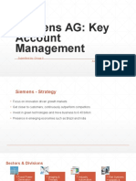 Siemens Key Account Management
