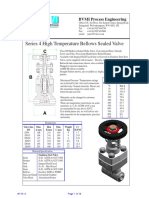 Applications for Bellows Seal Globe Valves