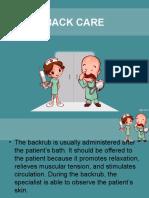 back care